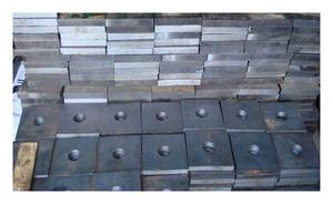 Анкерная плита М64 ГОСТ 24379.1-80