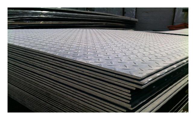 Лист рифленый 3х1250х2500 сталь 3 чечевица ГОСТ 8568-77